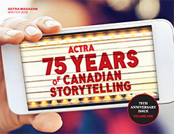 ACTRA Magazine winter 2018